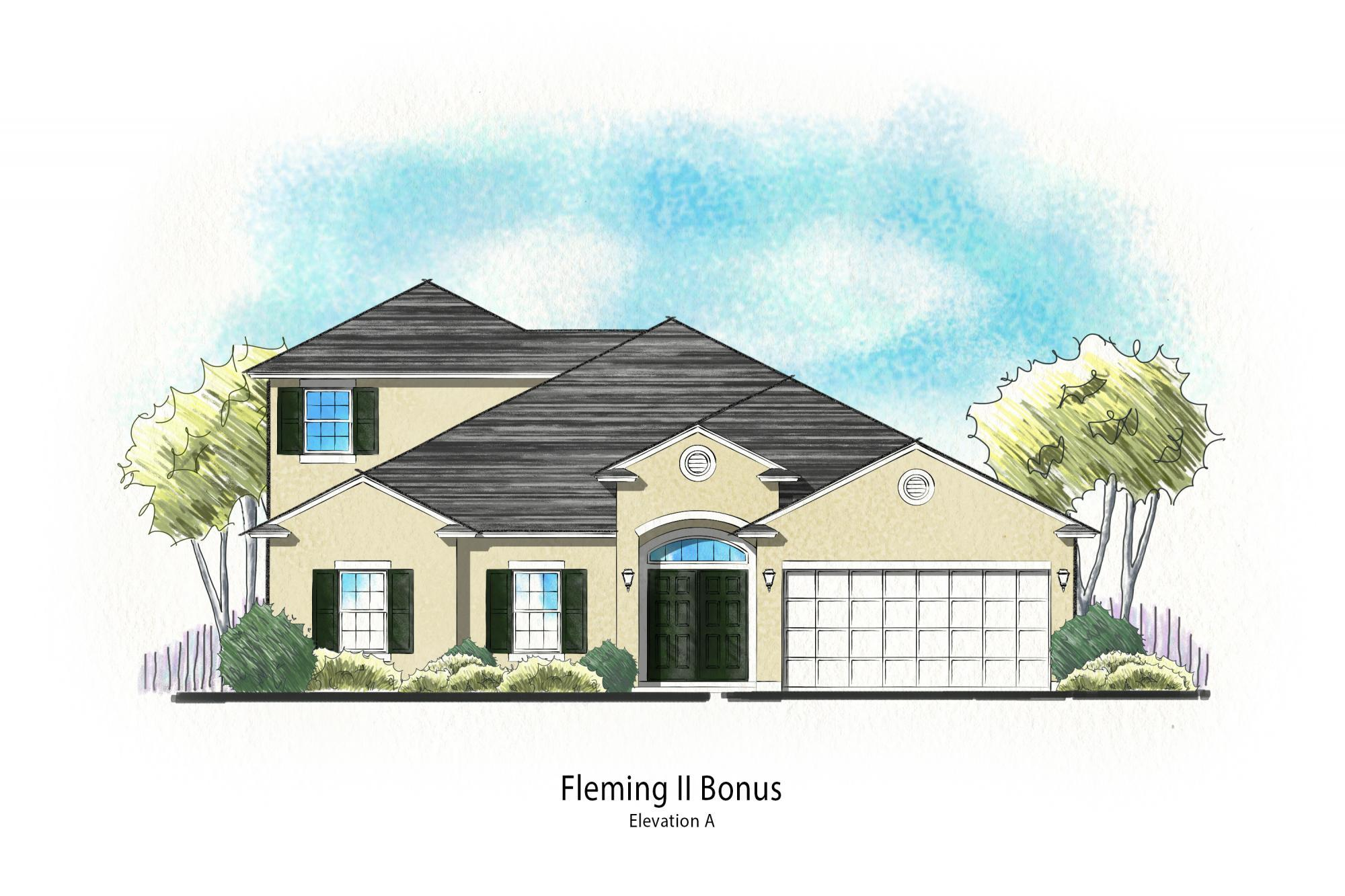 Exterior featured in the Fleming II w/ Bonus By Dream Finders Homes in Savannah, GA