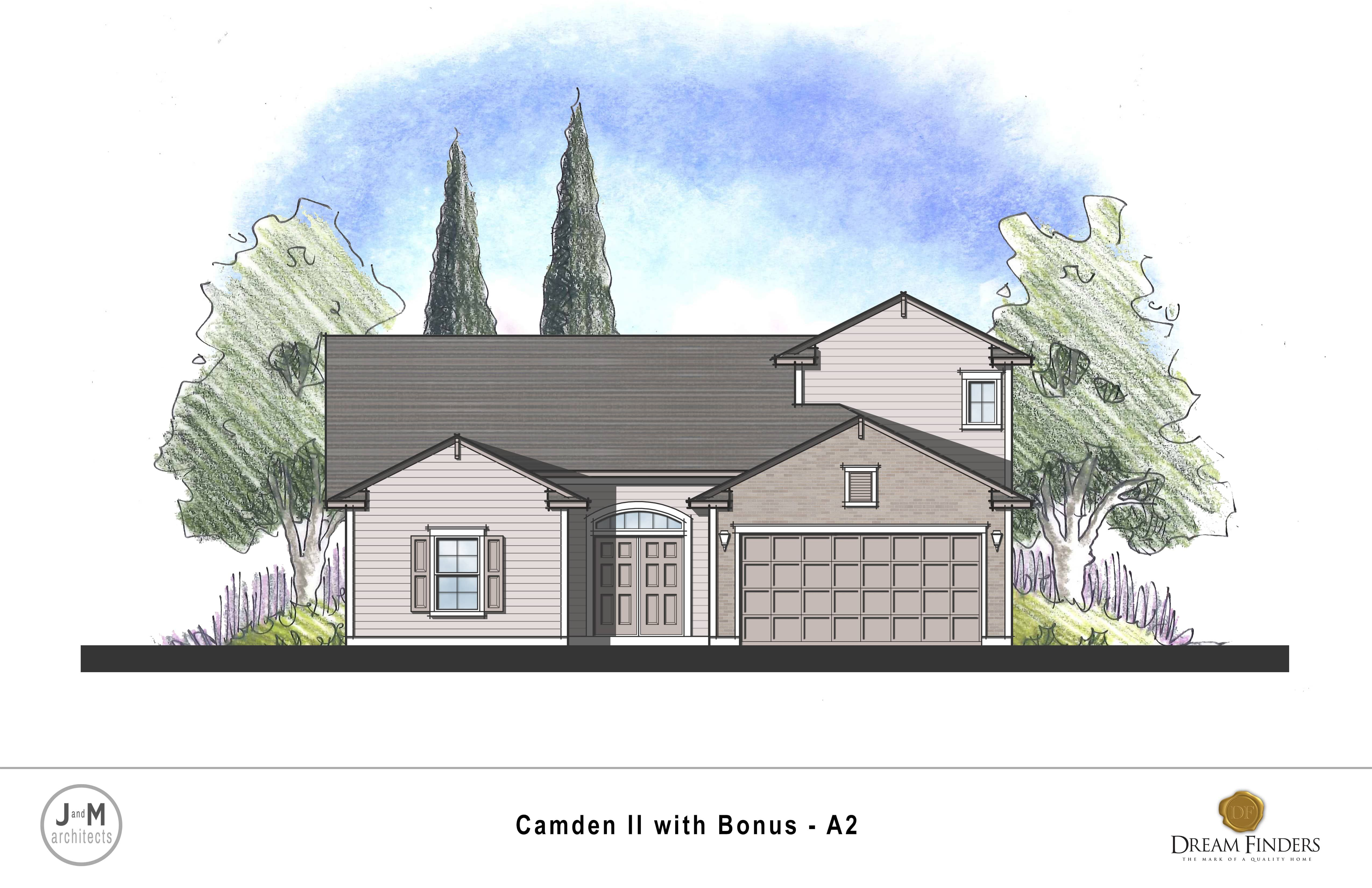 Exterior featured in the Camden II w/ Bonus By Dream Finders Homes in Savannah, GA