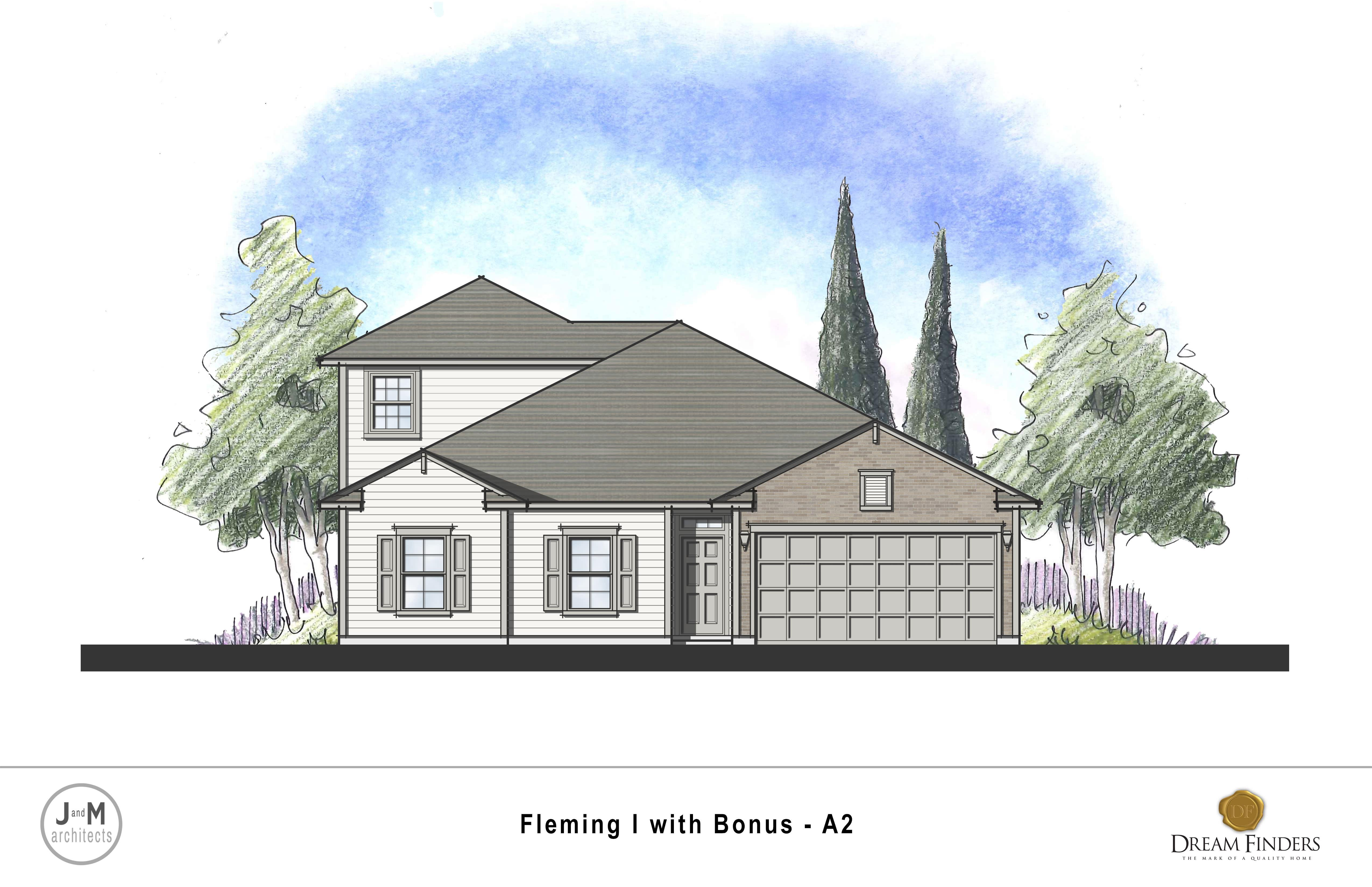 Exterior featured in the Fleming Bonus By Dream Finders Homes in Savannah, GA