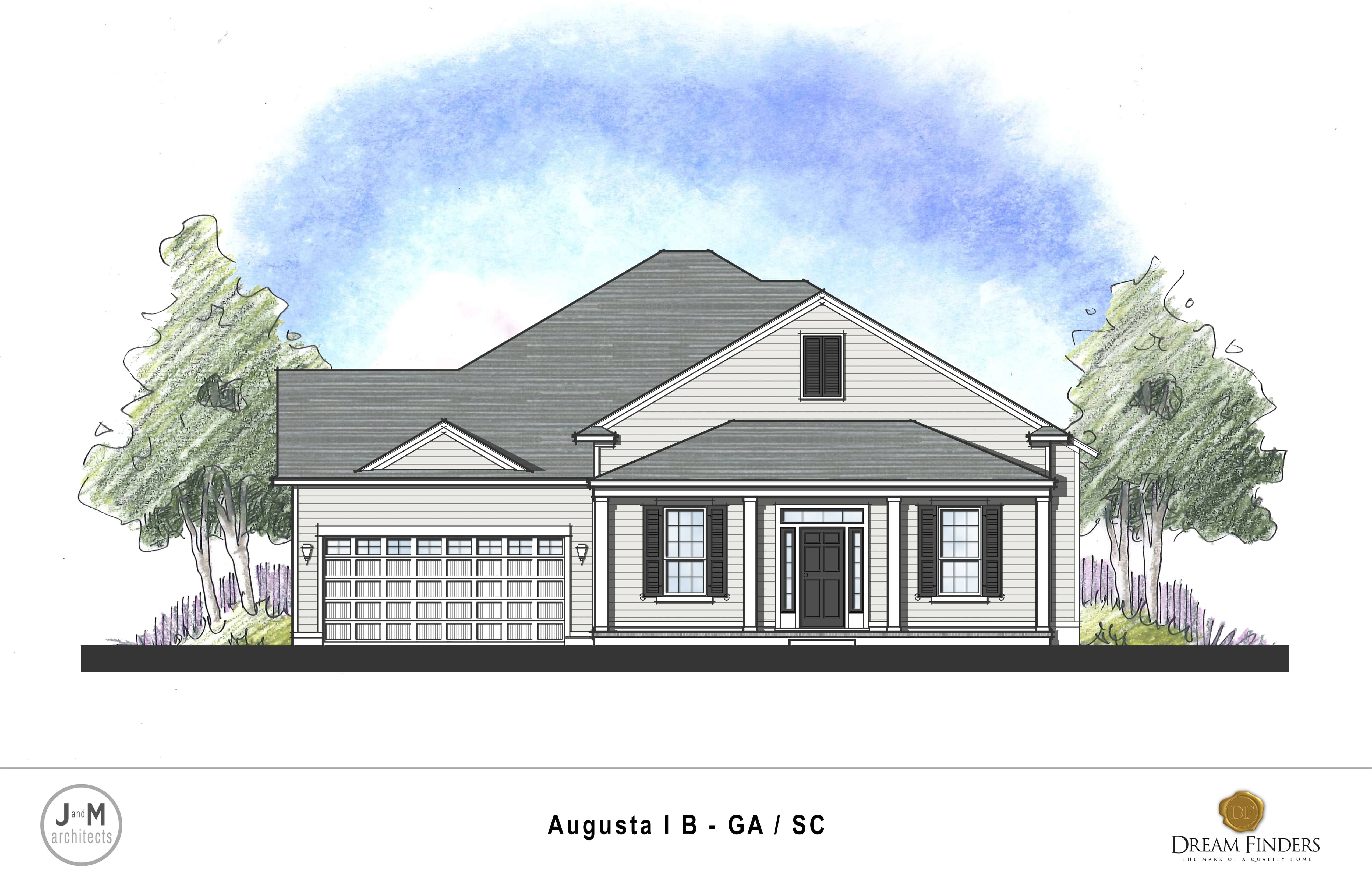Exterior featured in the Augusta By Dream Finders Homes in Savannah, GA