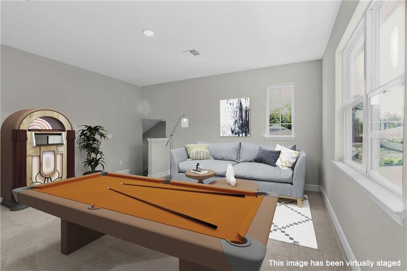 Living Area featured in the Arlington w/ Bonus By Dream Finders Homes in Orlando, FL
