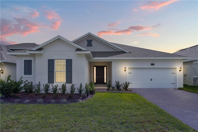 Exterior featured in the Tidewater By Dream Finders Homes in Orlando, FL