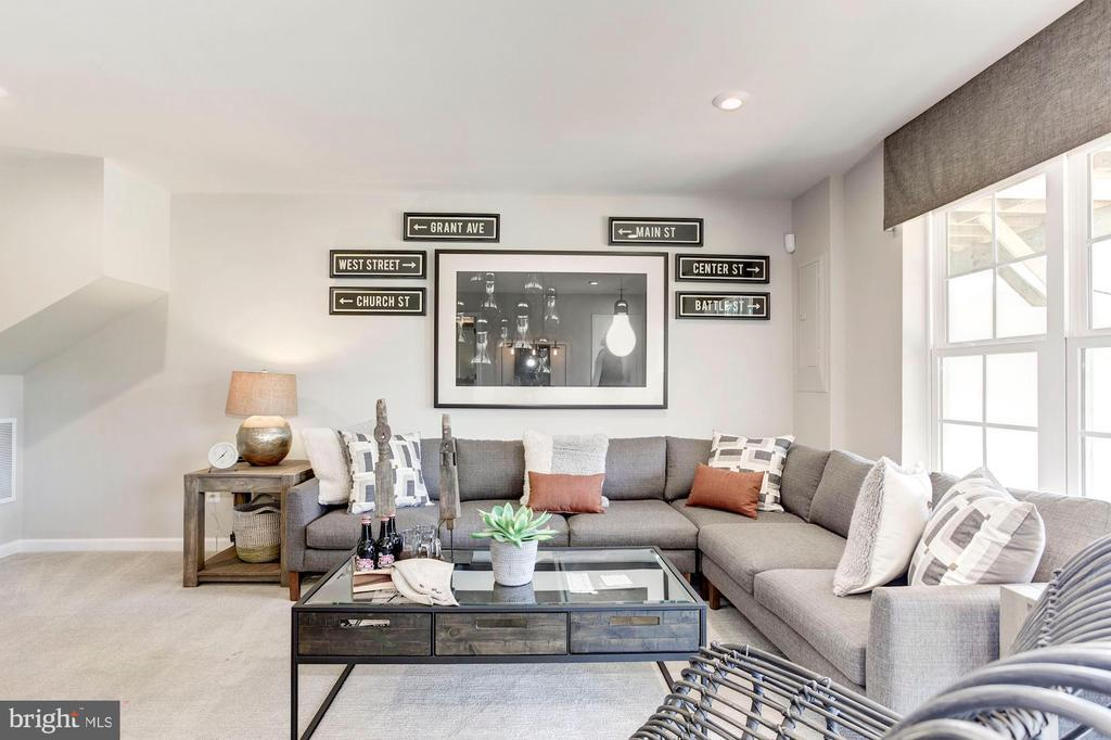Living Area featured in the Foxhall By Dream Finders Homes in Washington, VA