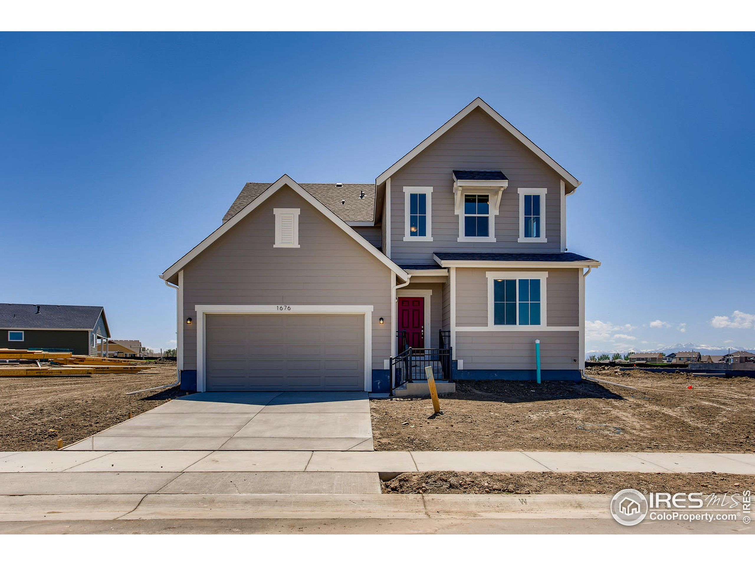 Exterior featured in the Enclave By Dream Finders Homes in Greeley, CO