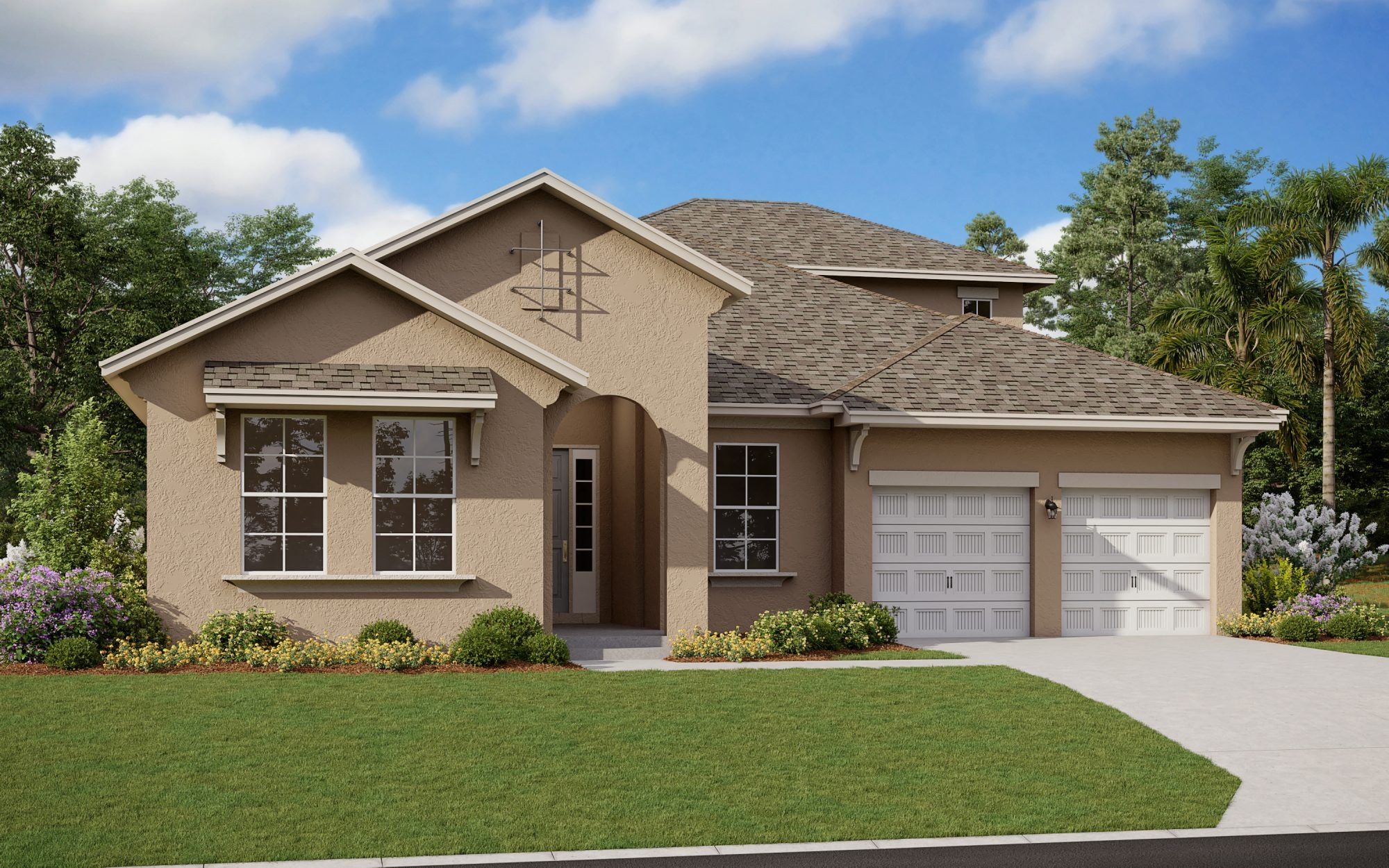 Exterior featured in the Arlington with Bonus By Dream Finders Homes in Orlando, FL