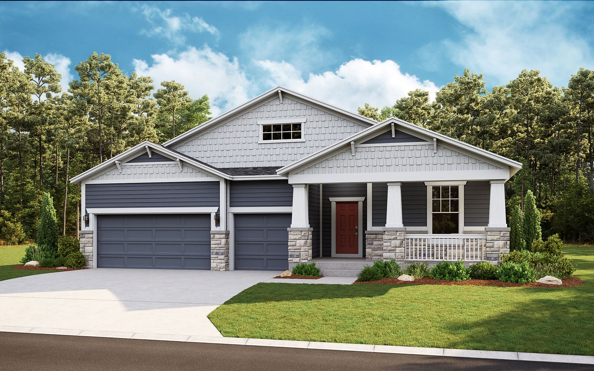 Exterior featured in the Summit By Dream Finders Homes in Greeley, CO