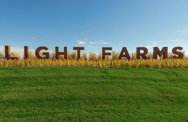 The Light Farms Entrance
