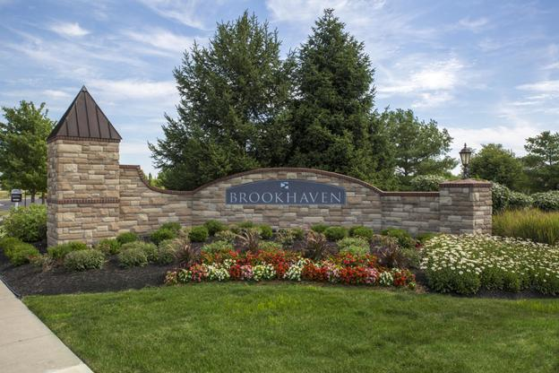 The Brookhaven Community Entrance