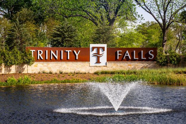 The Trinity Falls Entrance