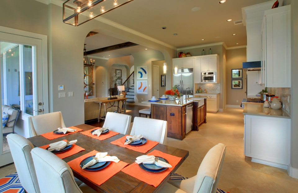 Kitchen-in-Colinas-at-Crystal Falls-in-Leander