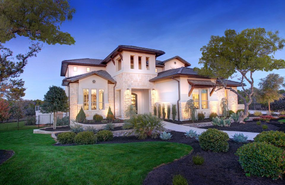 Exterior featured in the Lynmar By Drees Custom Homes in Austin, TX