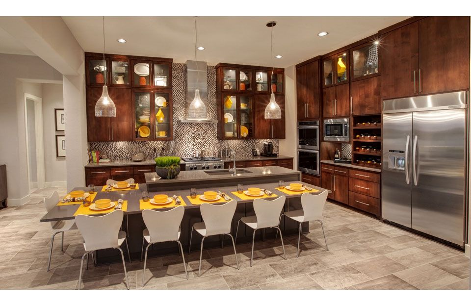 Kitchen featured in the Lynmar By Drees Custom Homes in Austin, TX