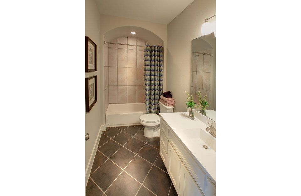 Bathroom featured in the Colinas II By Drees Custom Homes in Austin, TX