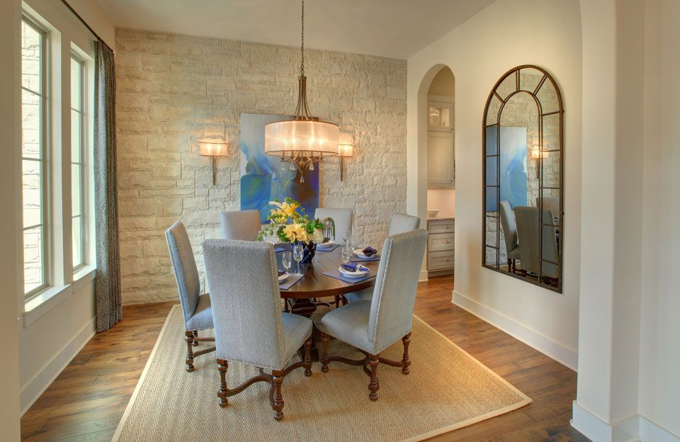 Living Area featured in the Colinas II By Drees Custom Homes in Austin, TX