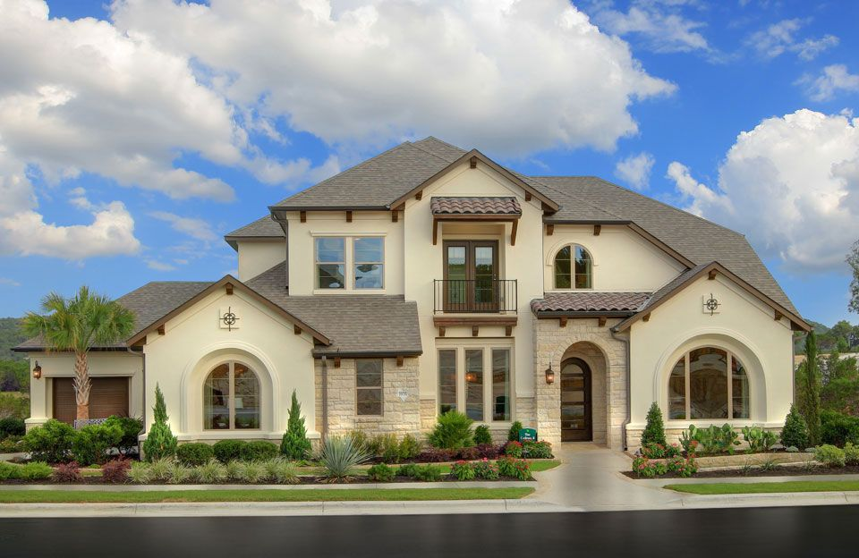 Exterior featured in the Colinas II By Drees Custom Homes in Austin, TX