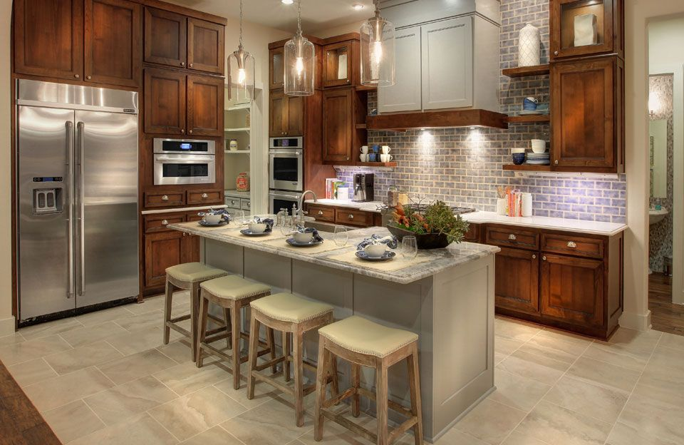 Kitchen featured in the Colinas II By Drees Custom Homes in Austin, TX