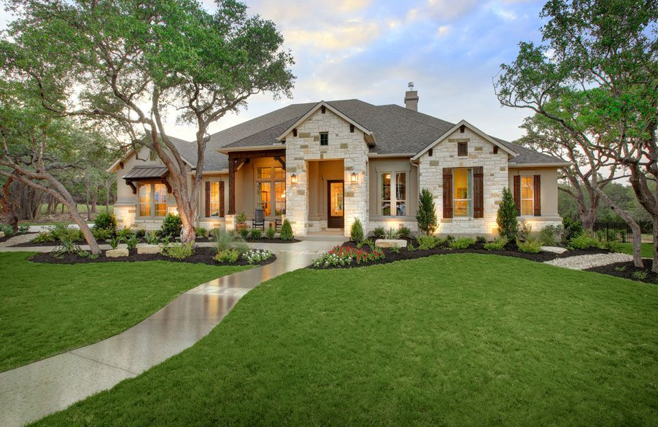 Exterior featured in the Parker By Drees Custom Homes in Austin, TX