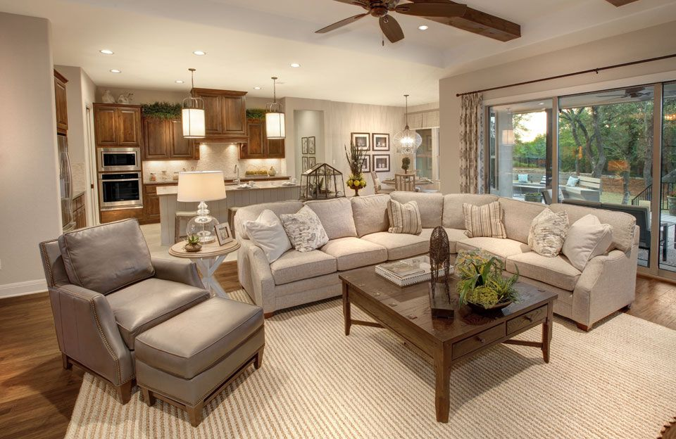 Living Area featured in the Parker By Drees Custom Homes in Austin, TX