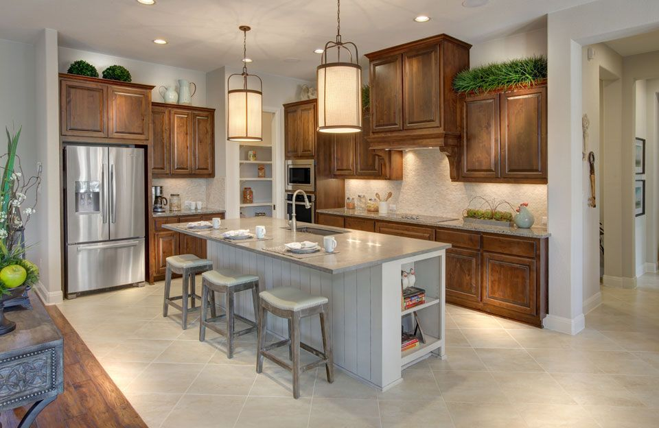 Kitchen-in-Parker-at-Northgate Ranch-in-Liberty Hill