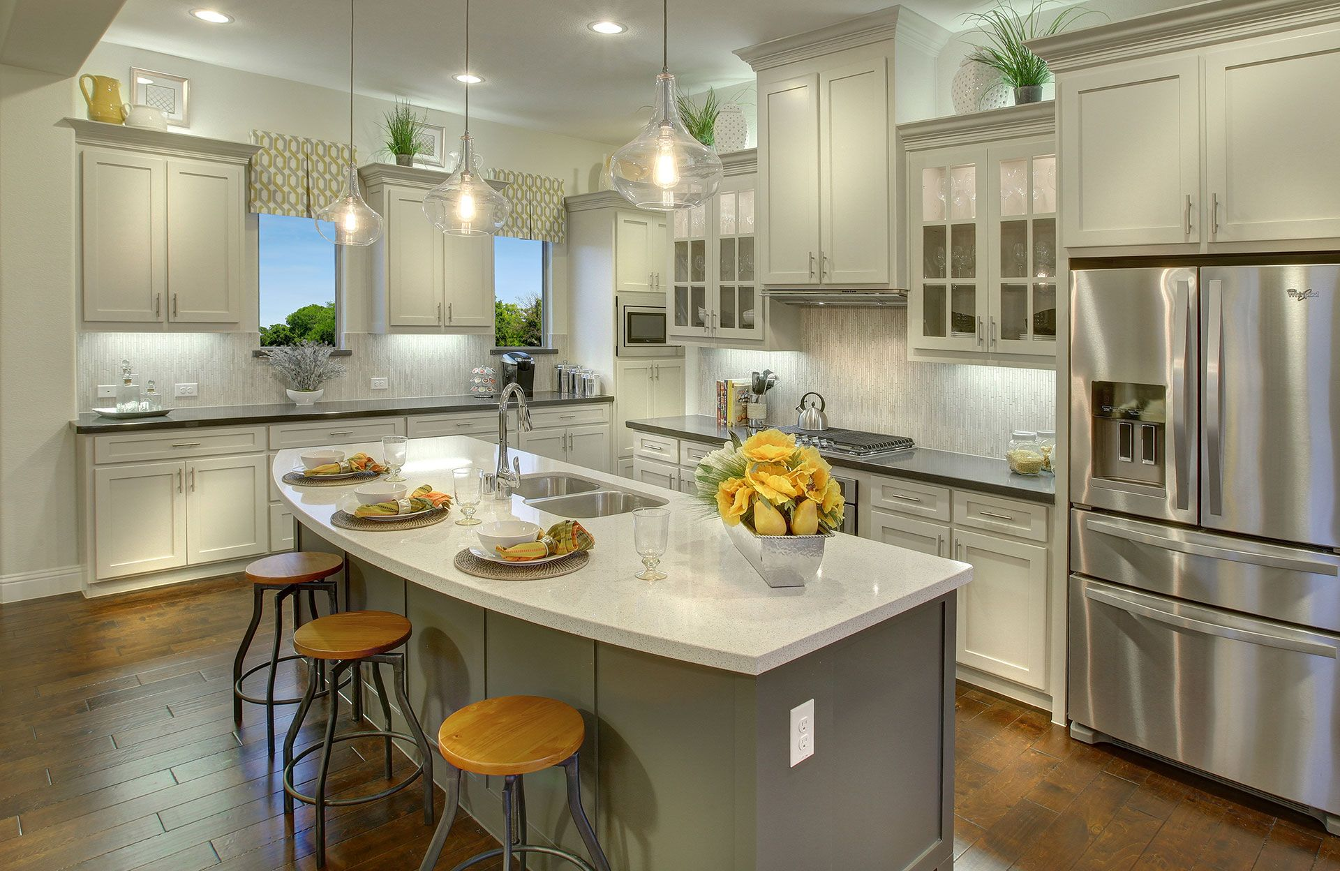 Kitchen-in-Tiana-at-Light Farms-in-Celina