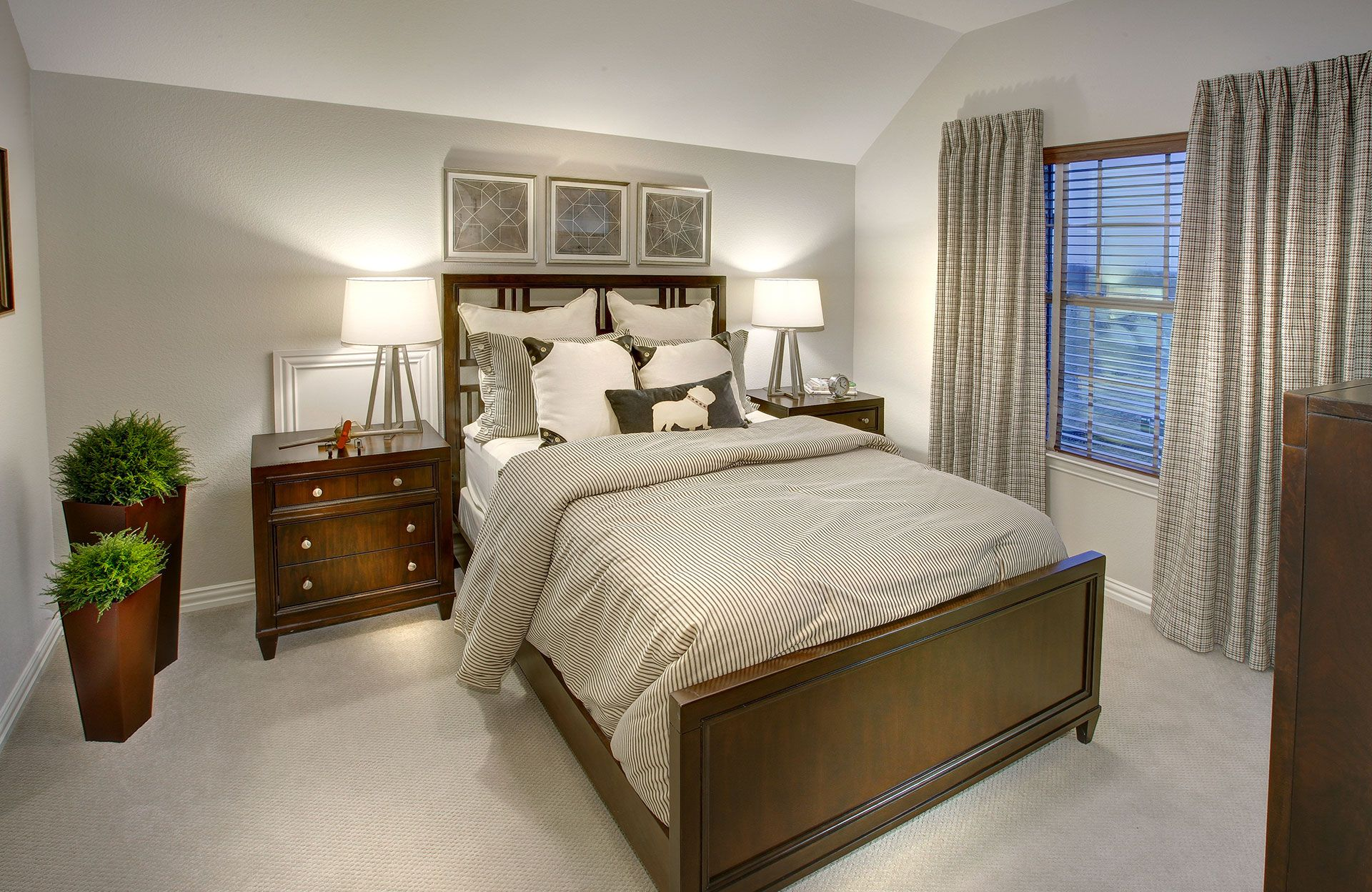 Bedroom featured in the Tiana By Drees Custom Homes in Dallas, TX