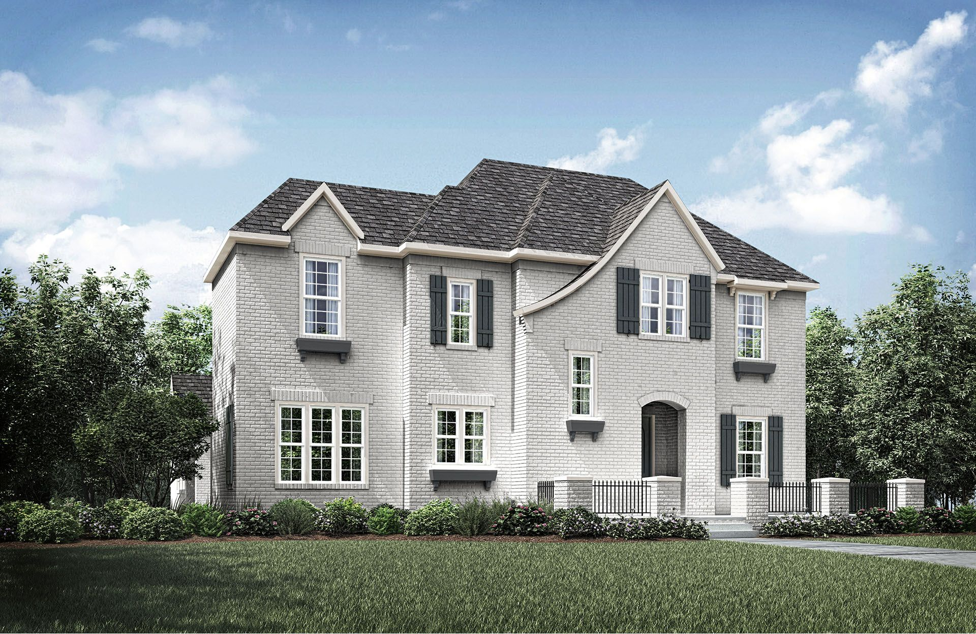 Exterior featured in the Cambria II By Drees Custom Homes in Fort Worth, TX