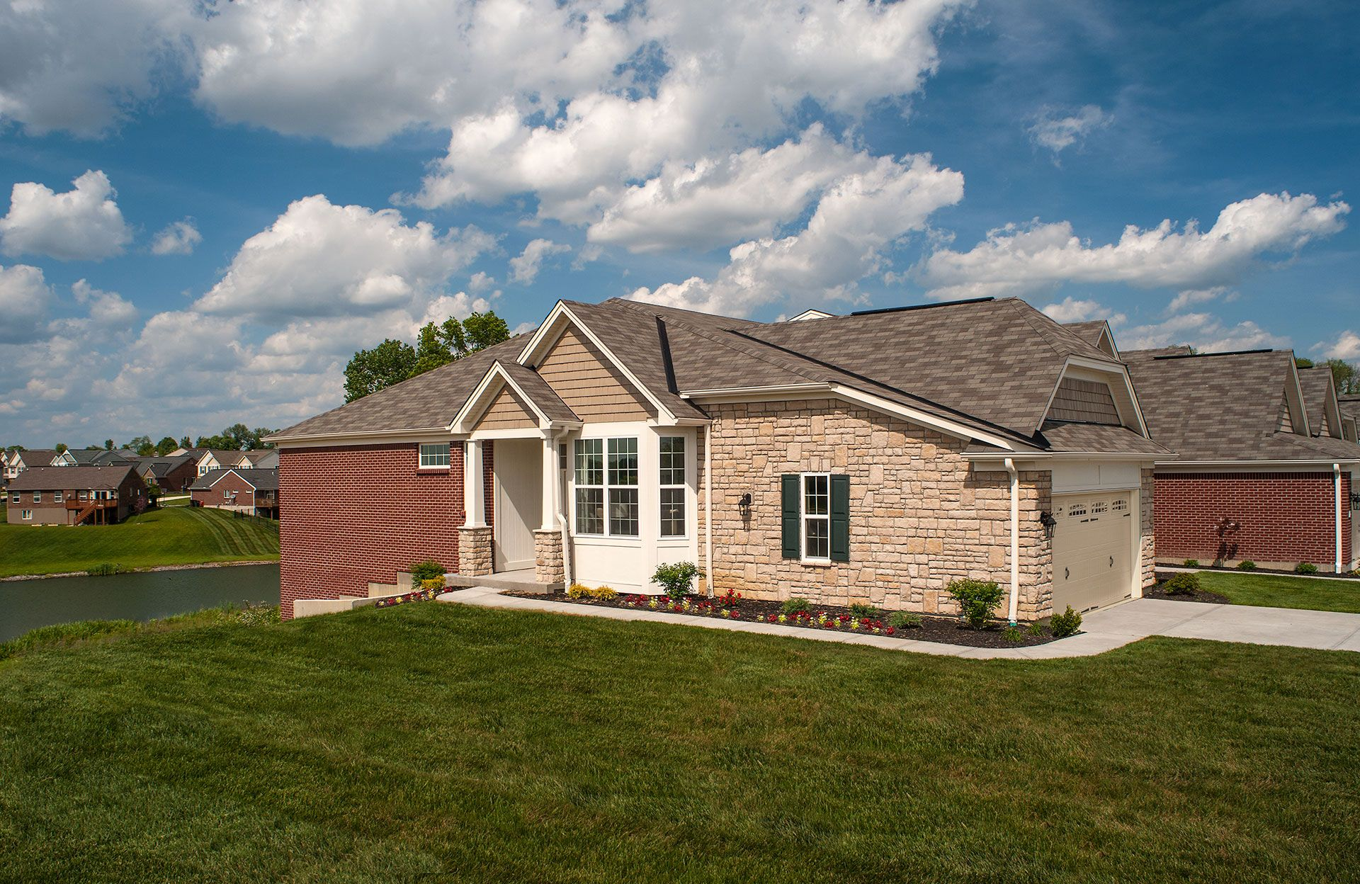 Exterior featured in the Waverly By Drees Homes in Cincinnati, KY