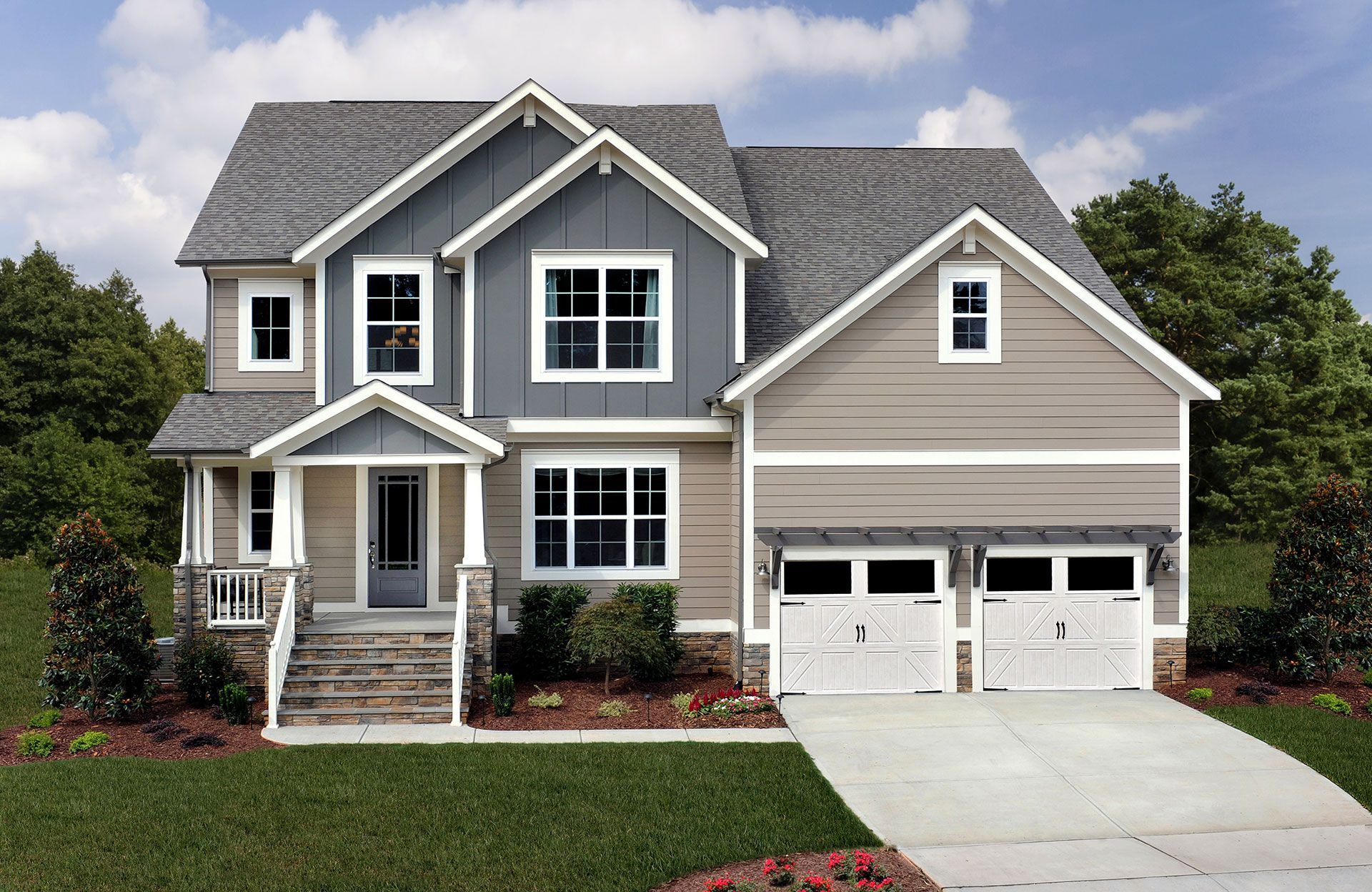 Exterior featured in the Reese By Drees Homes in Raleigh-Durham-Chapel Hill, NC