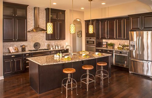 Kitchen-in-Sasha-at-Oak Ridge at Tipton Lakes-in-Columbus