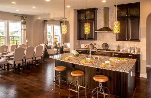 Kitchen-in-Sasha-at-Oak Ridge at Tipton Lakes-in-Columbus