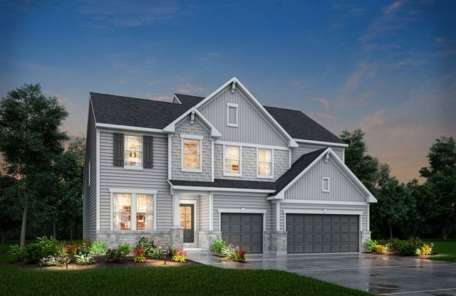 Belleville Plan At Design Gallery Homes In Indianapolis In