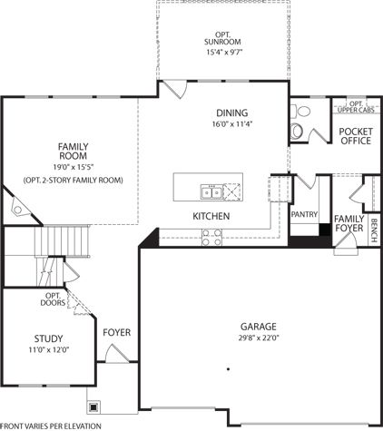 Design Gallery Homes By Drees Homes Bryan Fitzpatrick