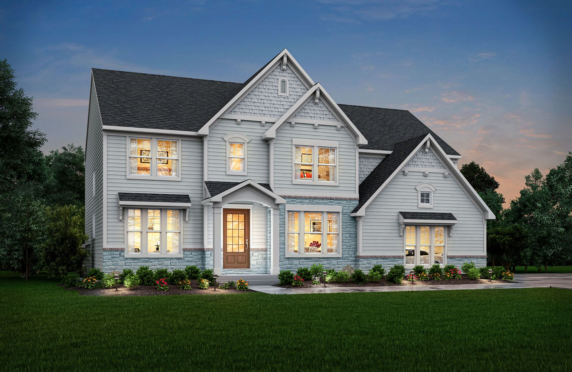 Ash Lawn   Woodcreek Crossing Community: Avon, Indiana   Drees Homes