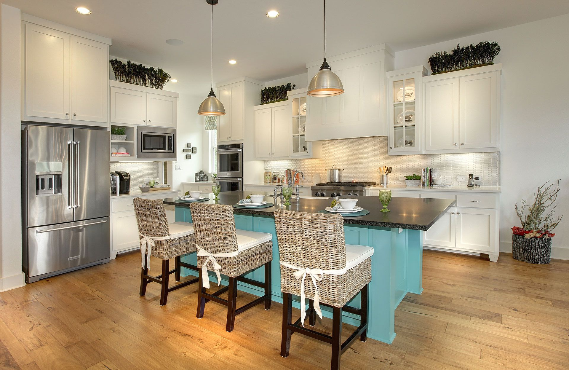 Kitchen-in-Tanner-at-Caliterra-in-Dripping Springs