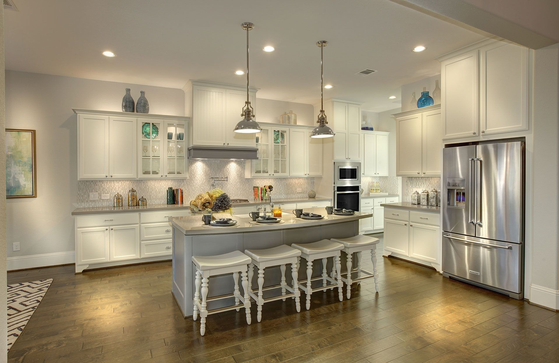 Kitchen featured in the Sonora By Drees Custom Homes in Houston, TX