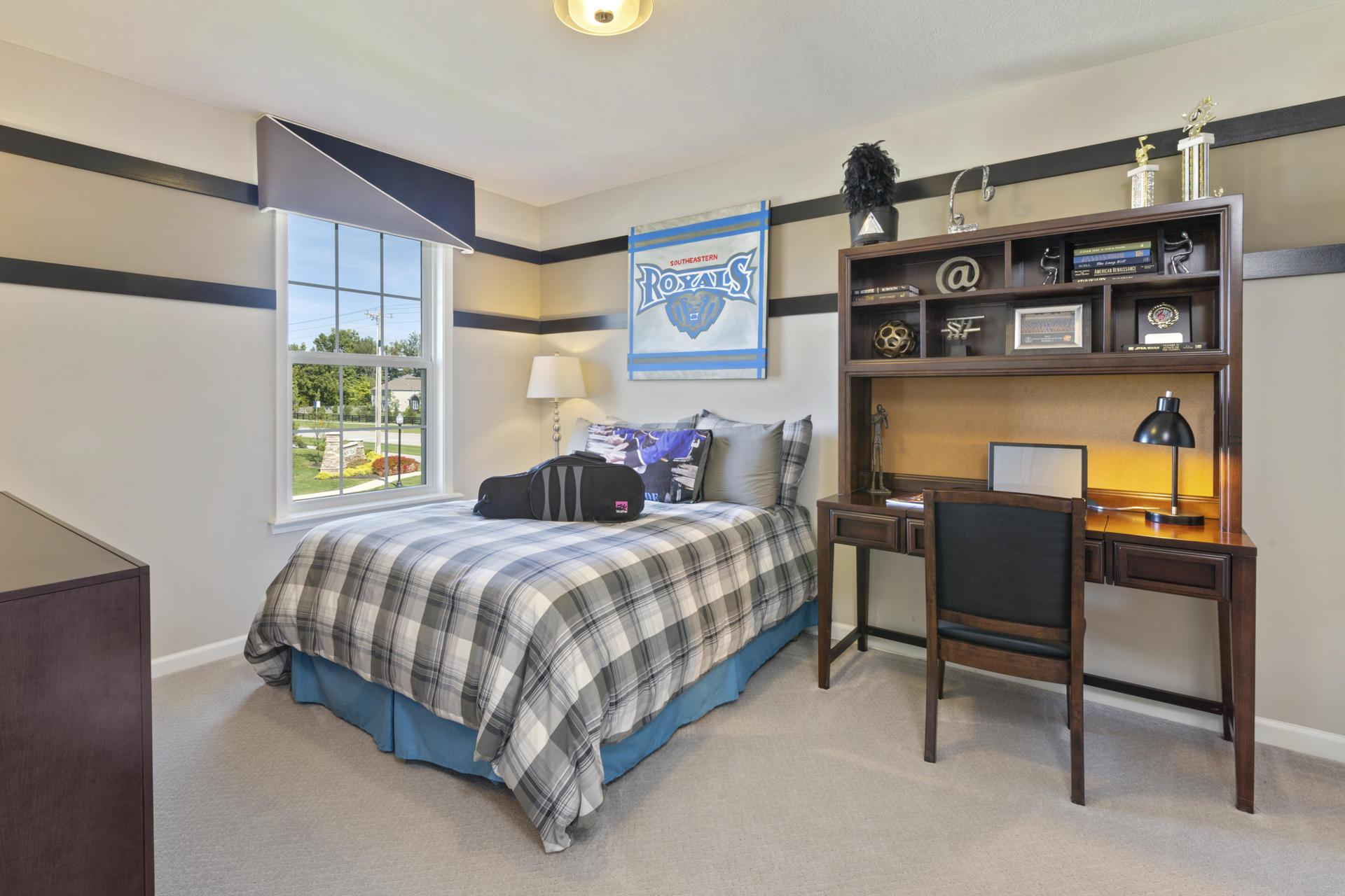 Bedroom featured in the Buchanan By Drees Homes in Indianapolis, IN