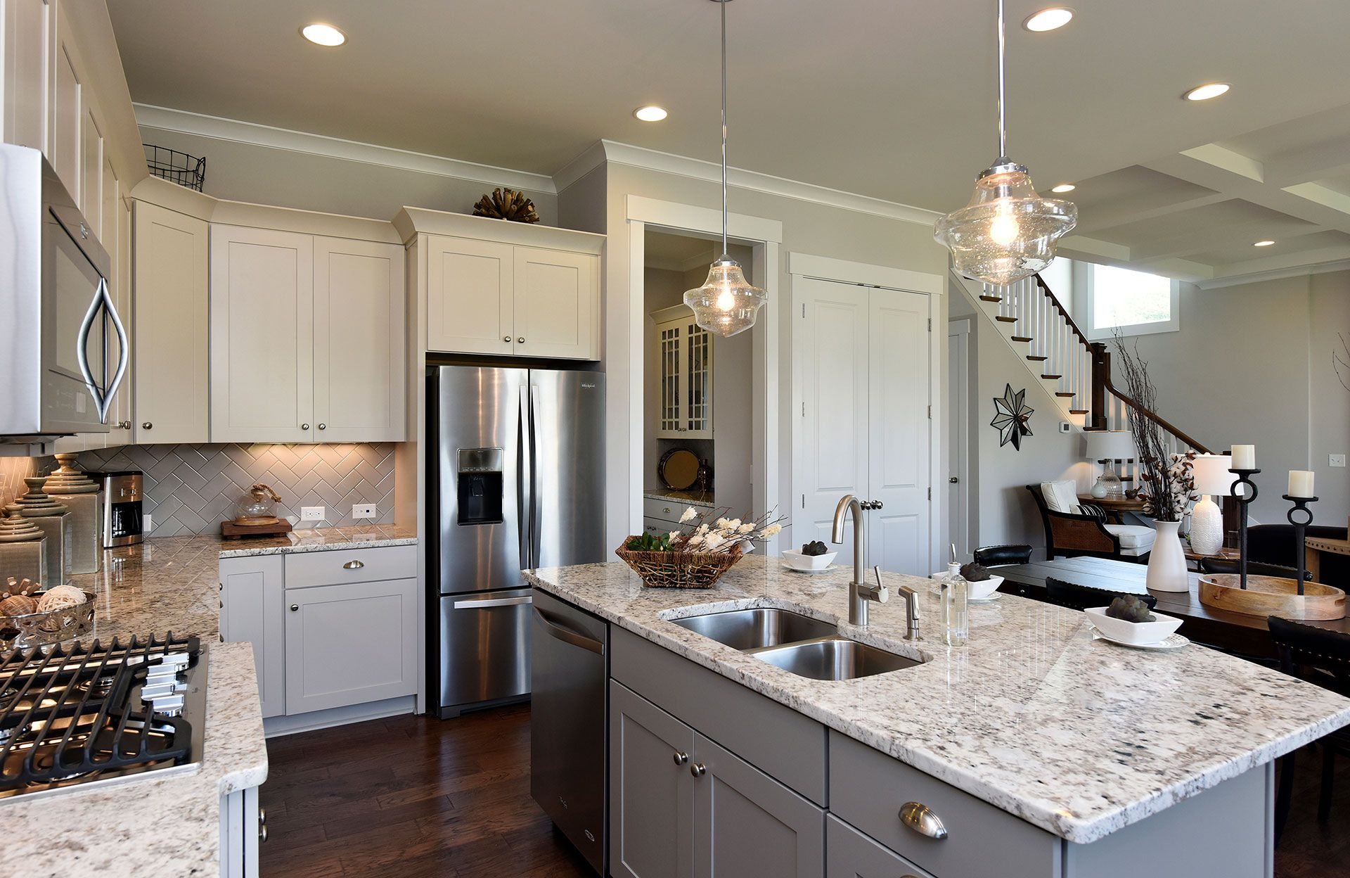Kitchen-in-Buchanan-at-Valley Springs-in-Durham
