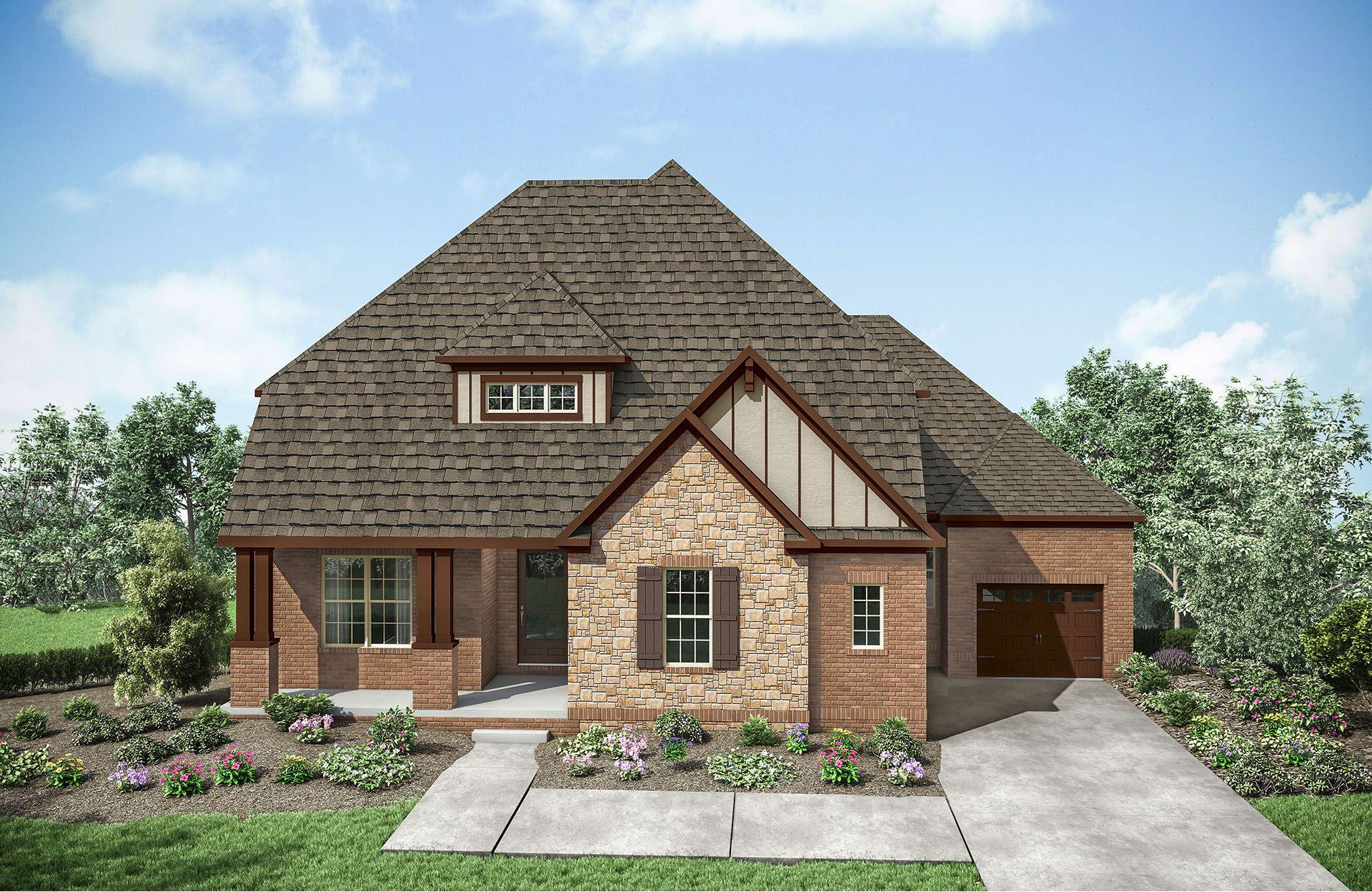 Oakdale C:Oakdale C with front porch