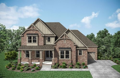 Asher by Drees Homes in Nashville Tennessee