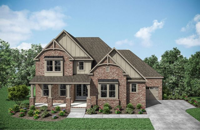 Somerville Plan at Weatherford Estates in Brentwood, TN by ... on