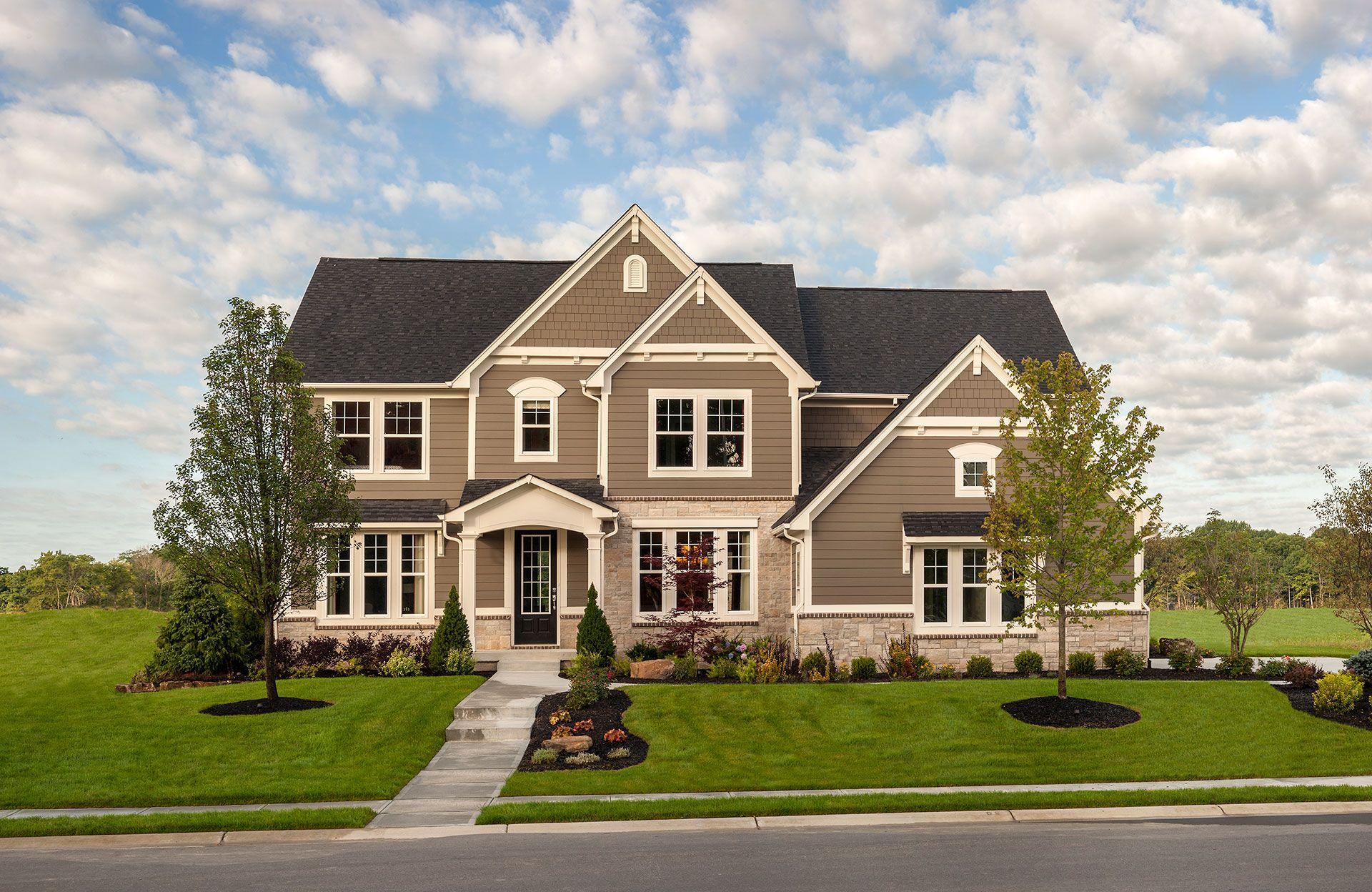 Ash Lawn Plan, Carmel, Indiana 46032 - Ash Lawn Plan at Albany Place ...