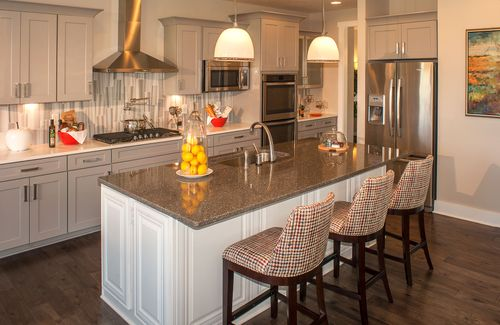 Kitchen-in-Ash Lawn-at-Oak Ridge at Tipton Lakes-in-Columbus