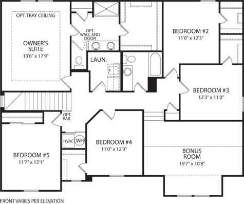 Design Gallery Homes By Drees Homes