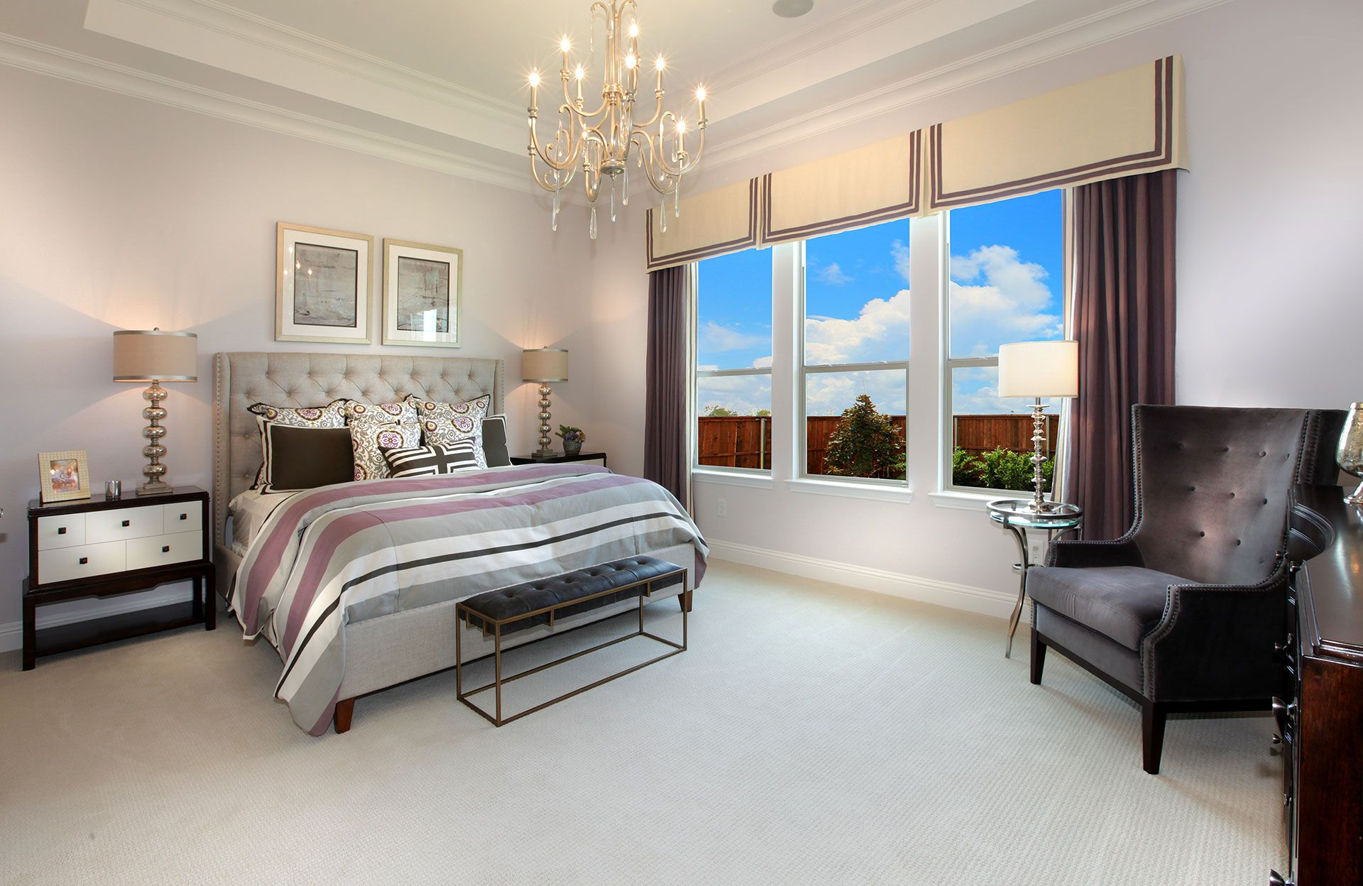 Bedroom featured in the Grayford By Drees Custom Homes in Dallas, TX