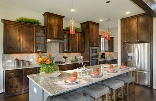 Kitchen-in-Deerfield II-at-The Summit at Lake Travis-in-Spicewood