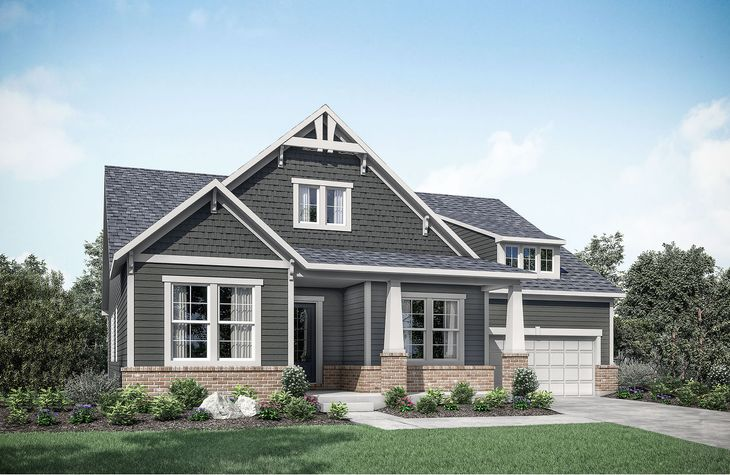 Highland A:Highland A with front porch