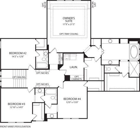 Poplar Forest Second Floor Plan Free Home Design Ideas
