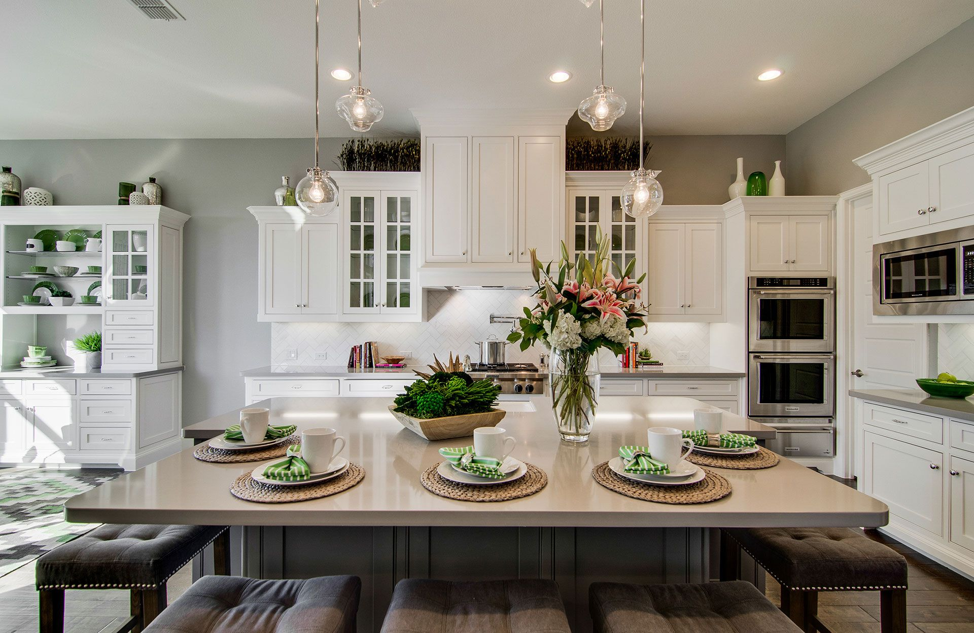 Kitchen featured in the Brinkley By Drees Custom Homes in Dallas, TX