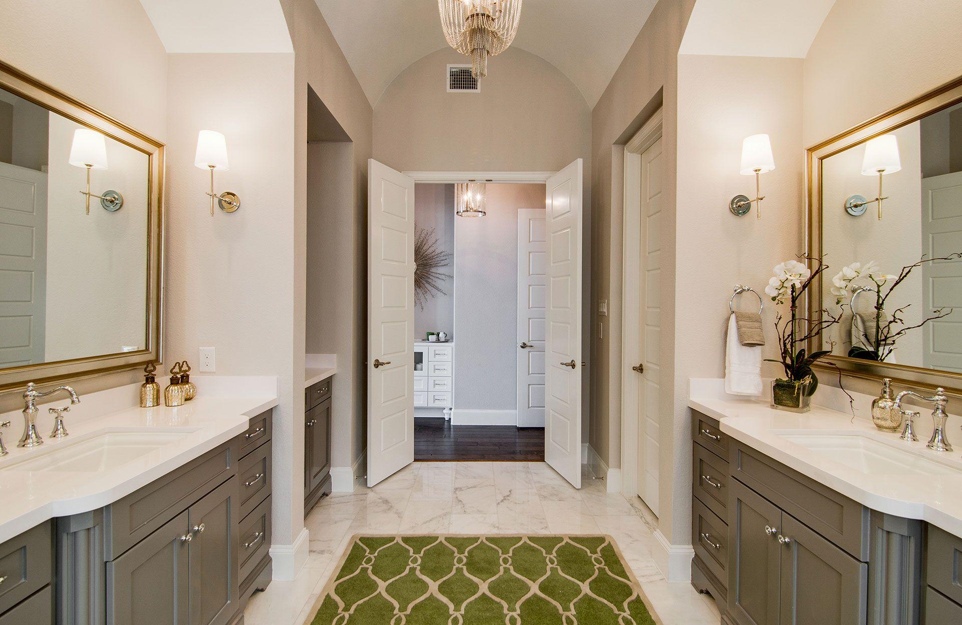 Bathroom featured in the Brinkley By Drees Custom Homes in Dallas, TX