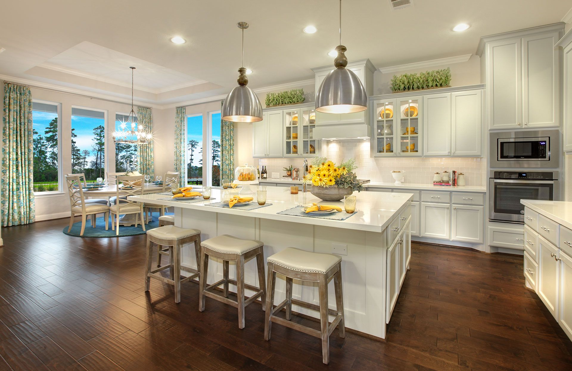 Kitchen featured in the Kentshire By Drees Custom Homes in Houston, TX